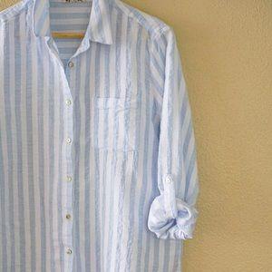 Striped Button Down